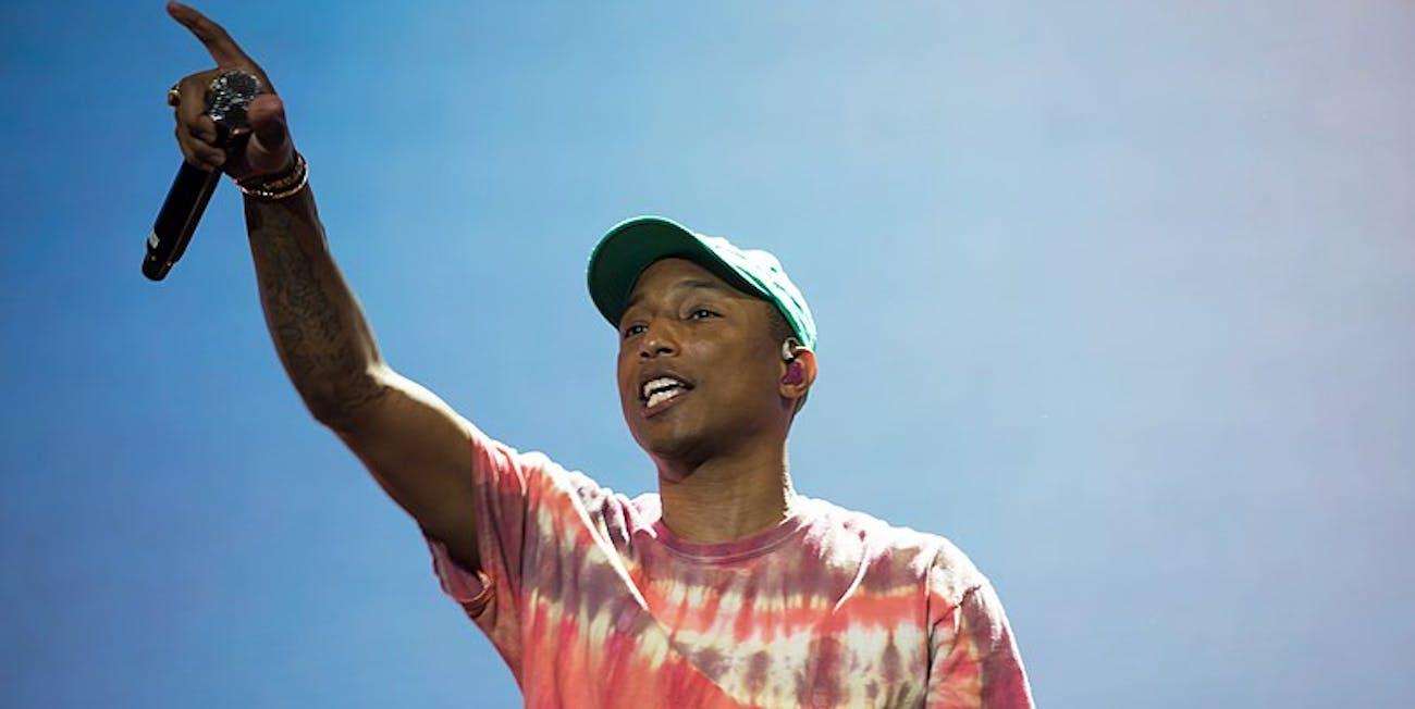 synesthesia, Pharrell Williams
