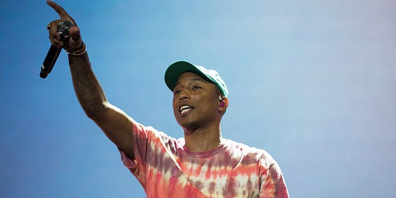synesthesia, Pharrell Williams