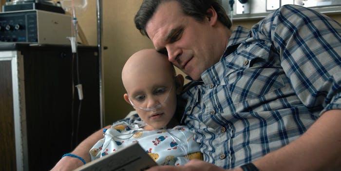 Hopper and his daughter Sarah.