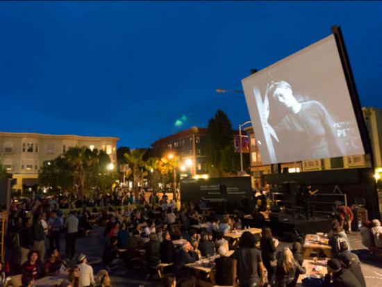 The inaugural Proxy Film Festival.
