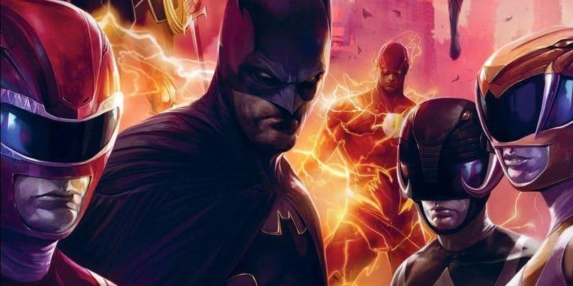 Witness the Power Rangers Step Out of the Justice League's Shadow