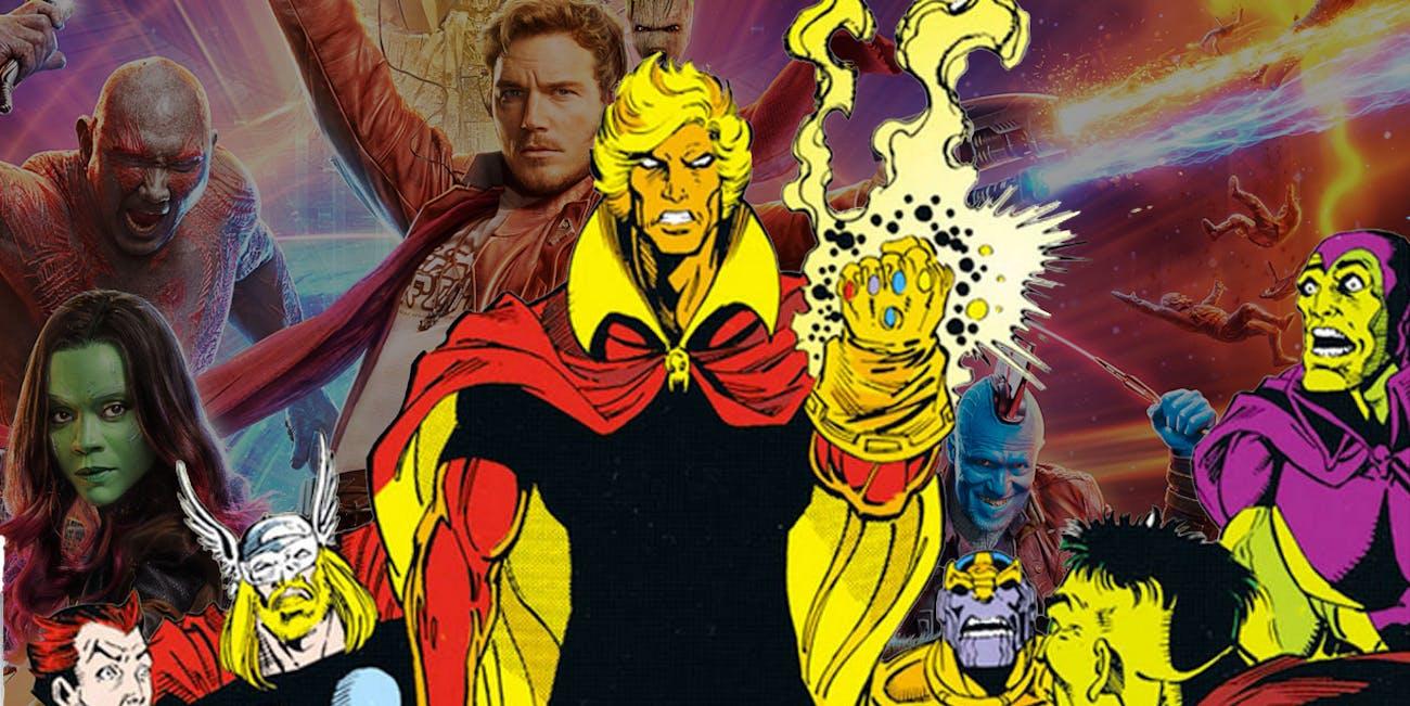 Guardians of the Galaxy Adam Warlock Post Credits Scene