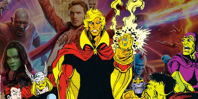 Guardians of the Galaxy Adam Warlock Post Credits Scene