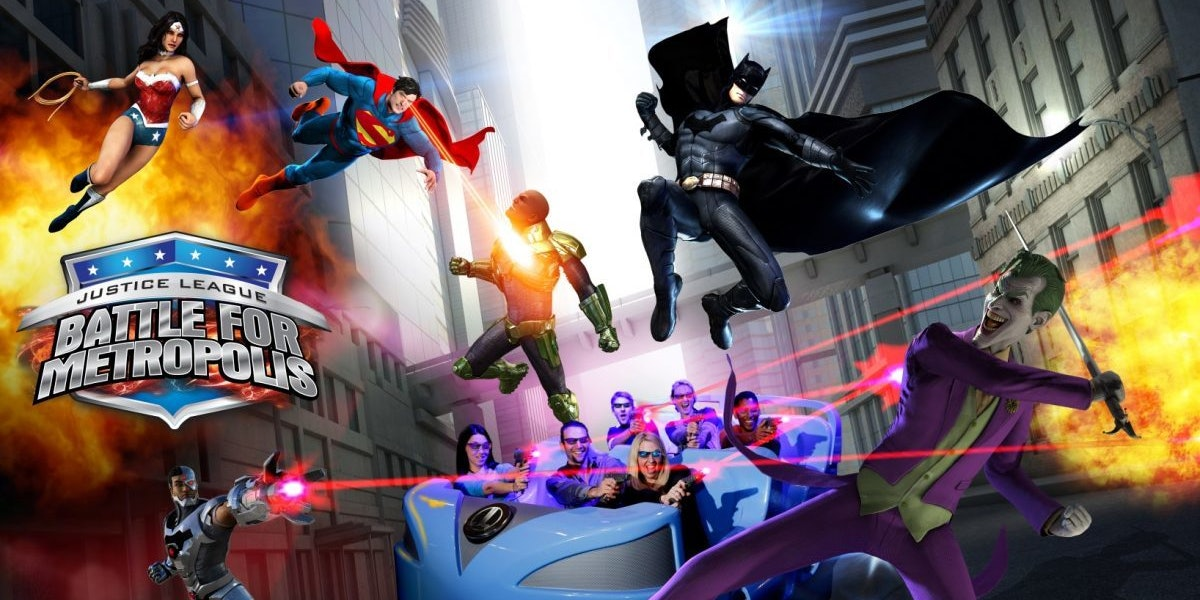 This New Justice League Ride with Harley Quinn Sounds Insane