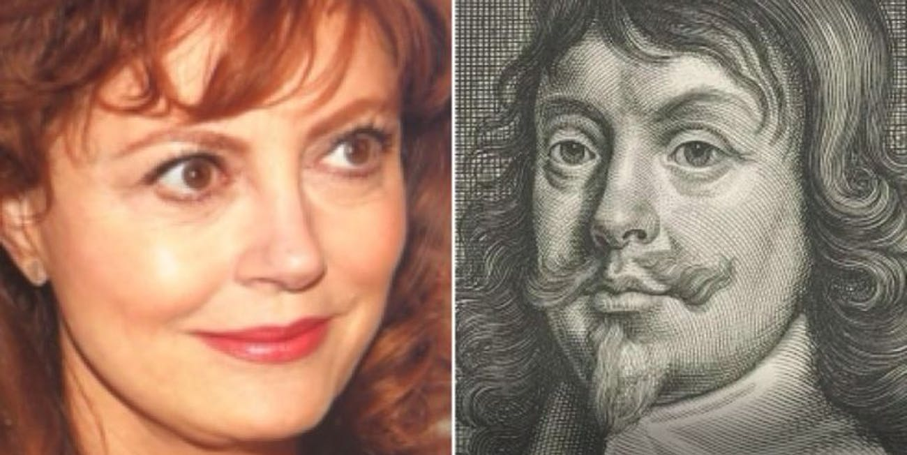 Susan Sarandon and her Google Arts and Culture Face Match