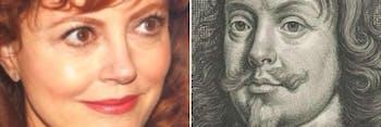 Susan Sarandon and her Google Arts and Culture Face Match
