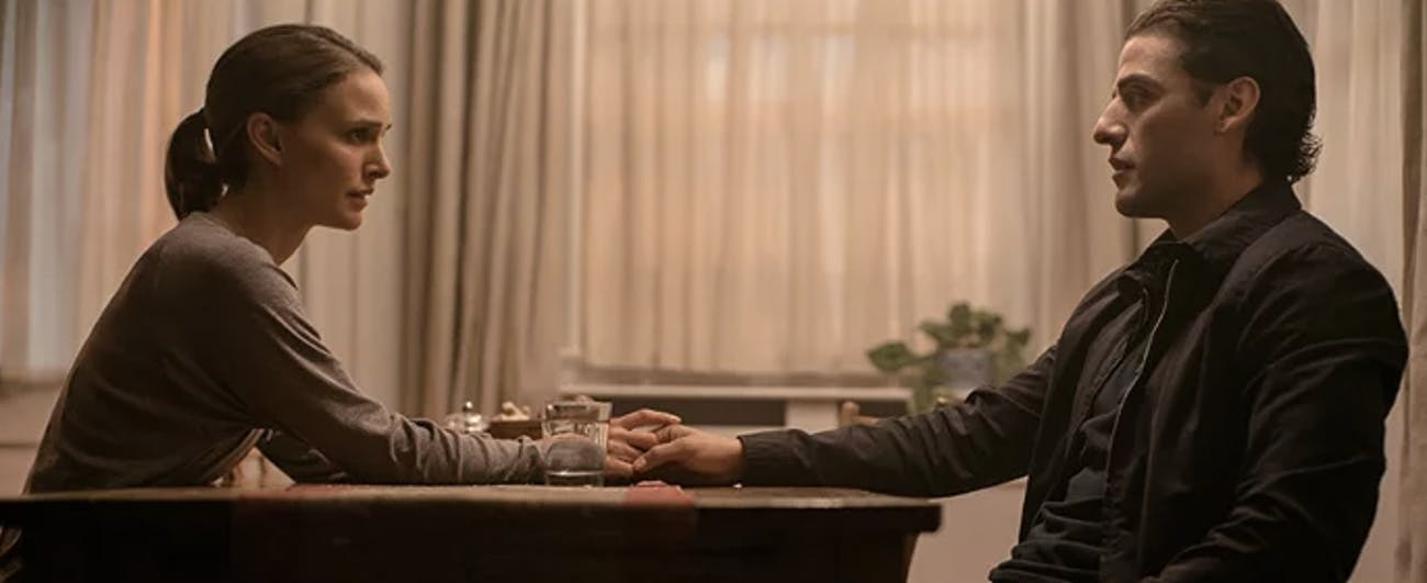Natalie Portman and Oscar Isaac in 'Annihilation'