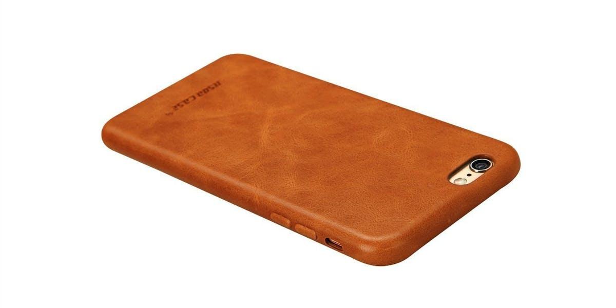 Jisoncase Leather iphone case
