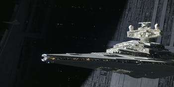 The Star Destroyer in 'Rogue One'