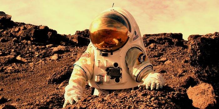 mars astronaut