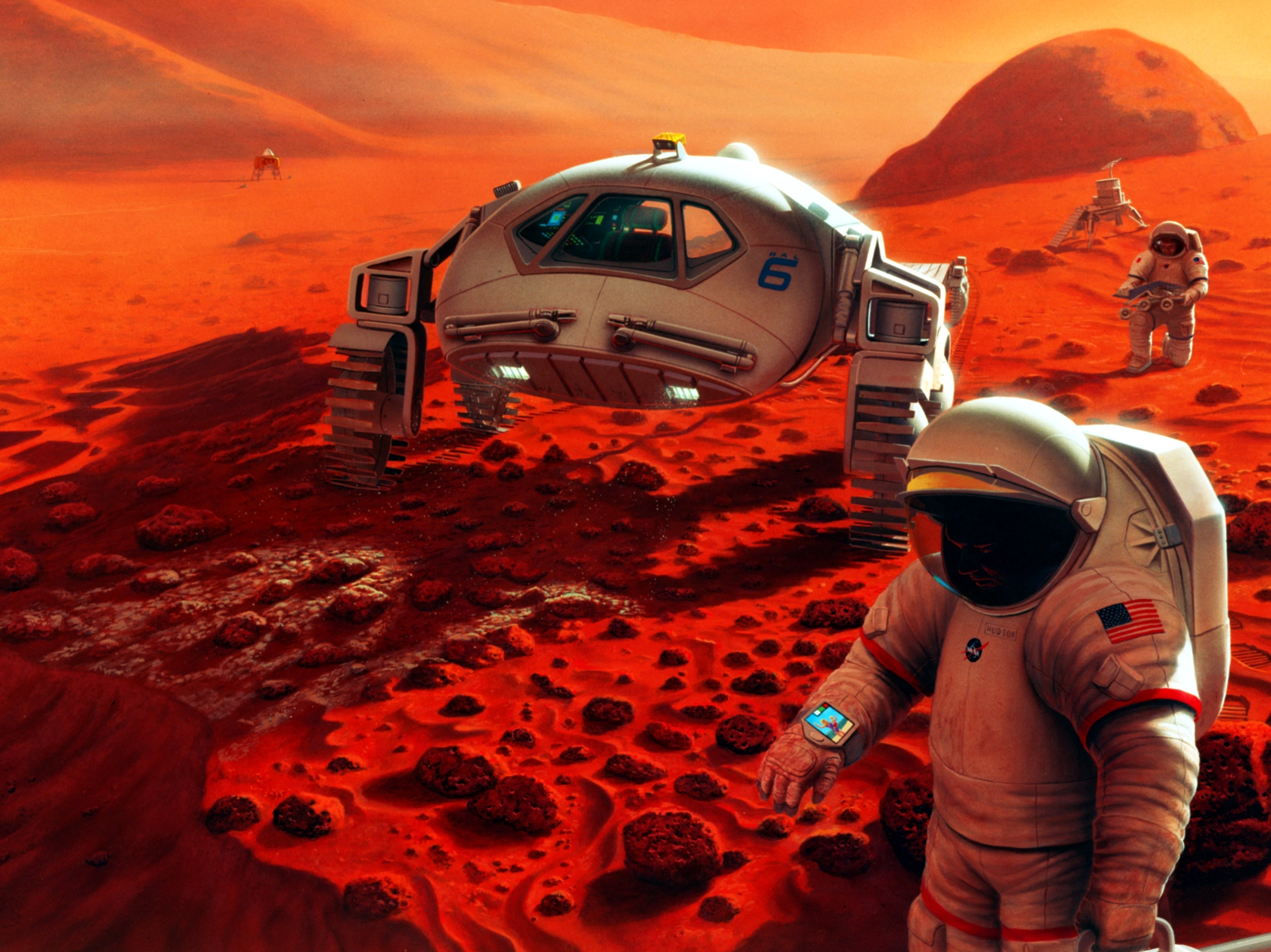 'There's No Handbook For How to Land on Mars'