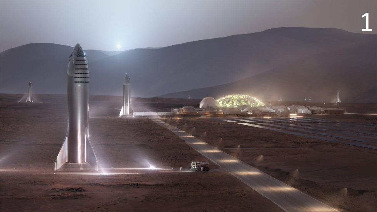 The new Starship images.