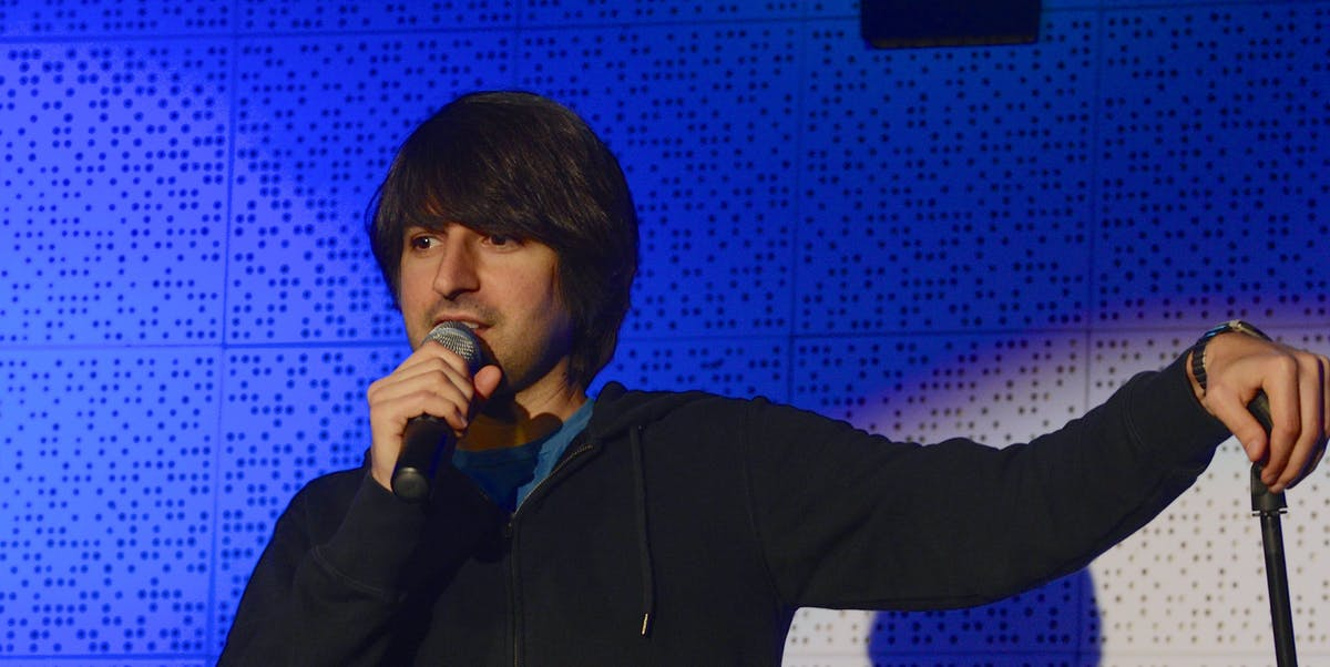 NASHVILLE, TN - MAY 17:  Comedian Demetri Martin performs at the Bud Light Presents Wild West Comedy Festival featuring Demetri Martin at Third Man Records on May 17, 2014 in Nashville, Tennessee.  (Photo by Jason Davis/Getty Images for Bud Light)