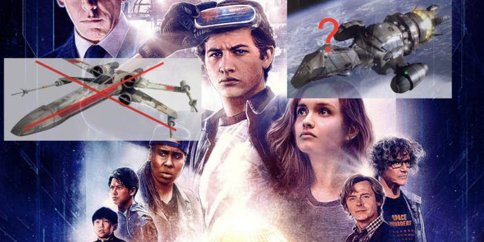 'Ready Player One' probably won't have any 'Star Wars' easter eggs.