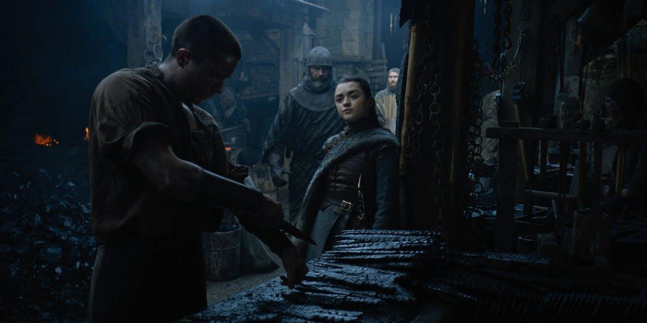 Game Of Thrones Arya Gendry Scene Season 8 Fulfills A