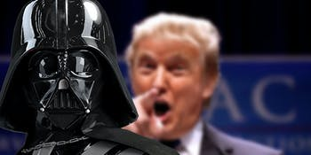 Star Wars Donald Trump Space Force