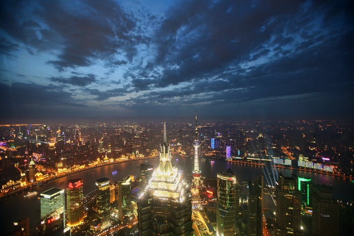 In 2000, Shanghai had 16 million people, twice the size of New York at the the time. In 2014, it had 24 million people, three times the size of New York.