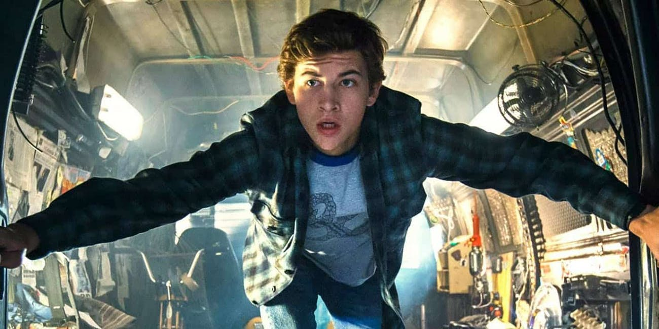 The Oasis in 'Ready Player One'