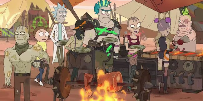 'Rick and Morty' gets the 'Mad Max' treatment.