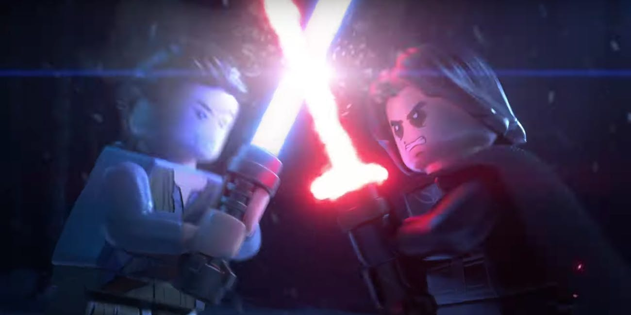 Still from 'Lego Star Wars: The Skywalker Saga'
