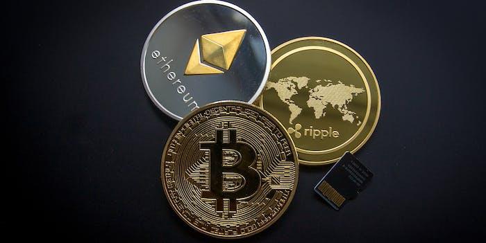 Cryptocurrency bitcoin litecoin ripple ethereum