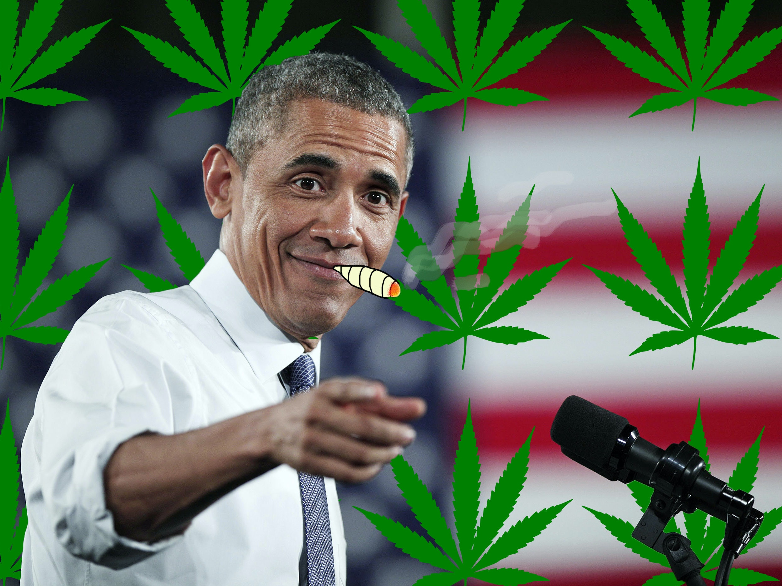 Cool Dad Barack Obama Says Weed Is Just Like Booze and Cigarettes