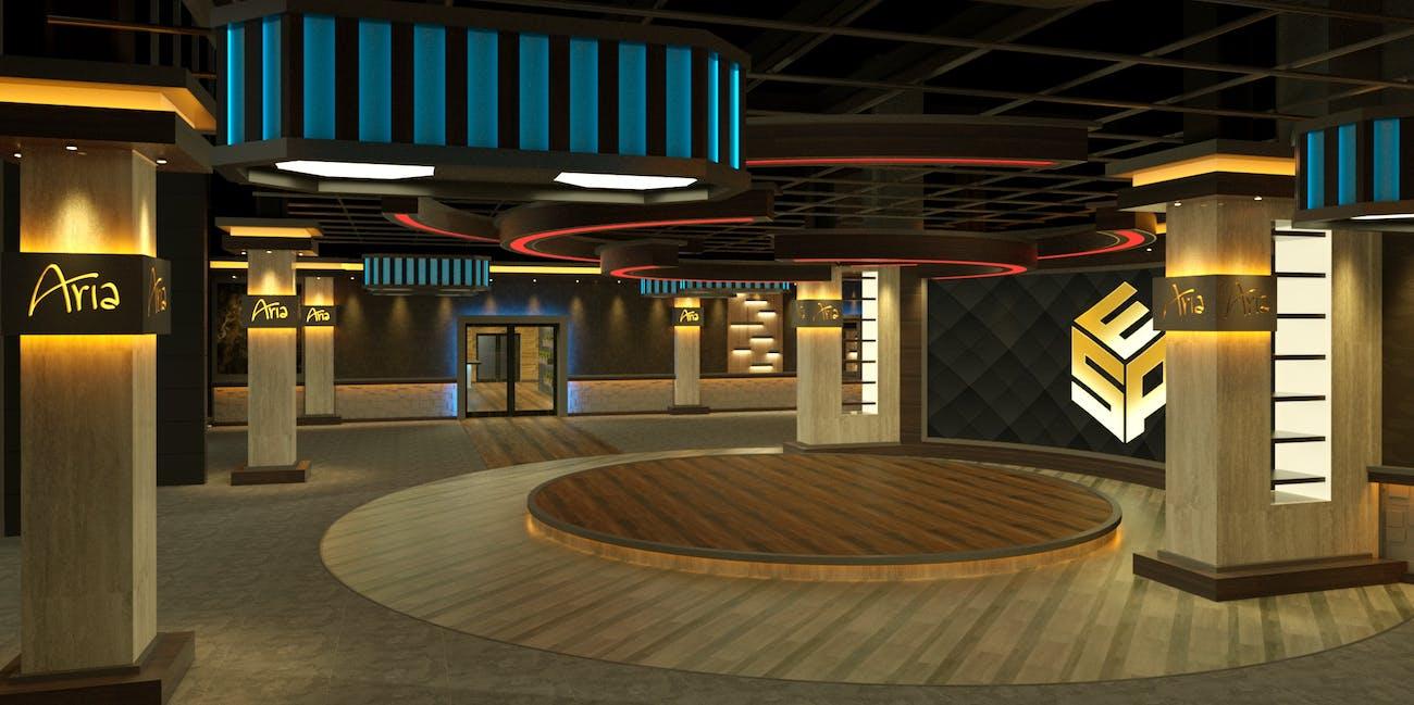 WSOE Aria Casino studio