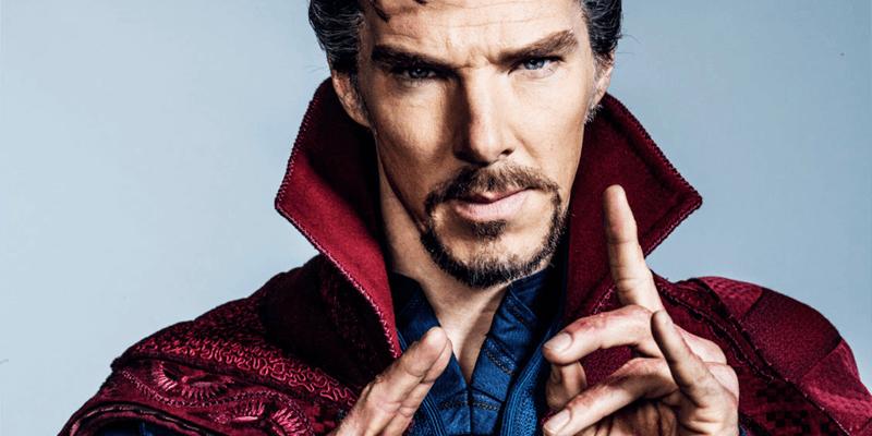 Benedict Cumberbatch as 'Doctor Strange'
