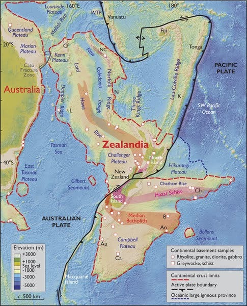 Scientists set out to unearth facts about Zealandia, the 'lost continent'""