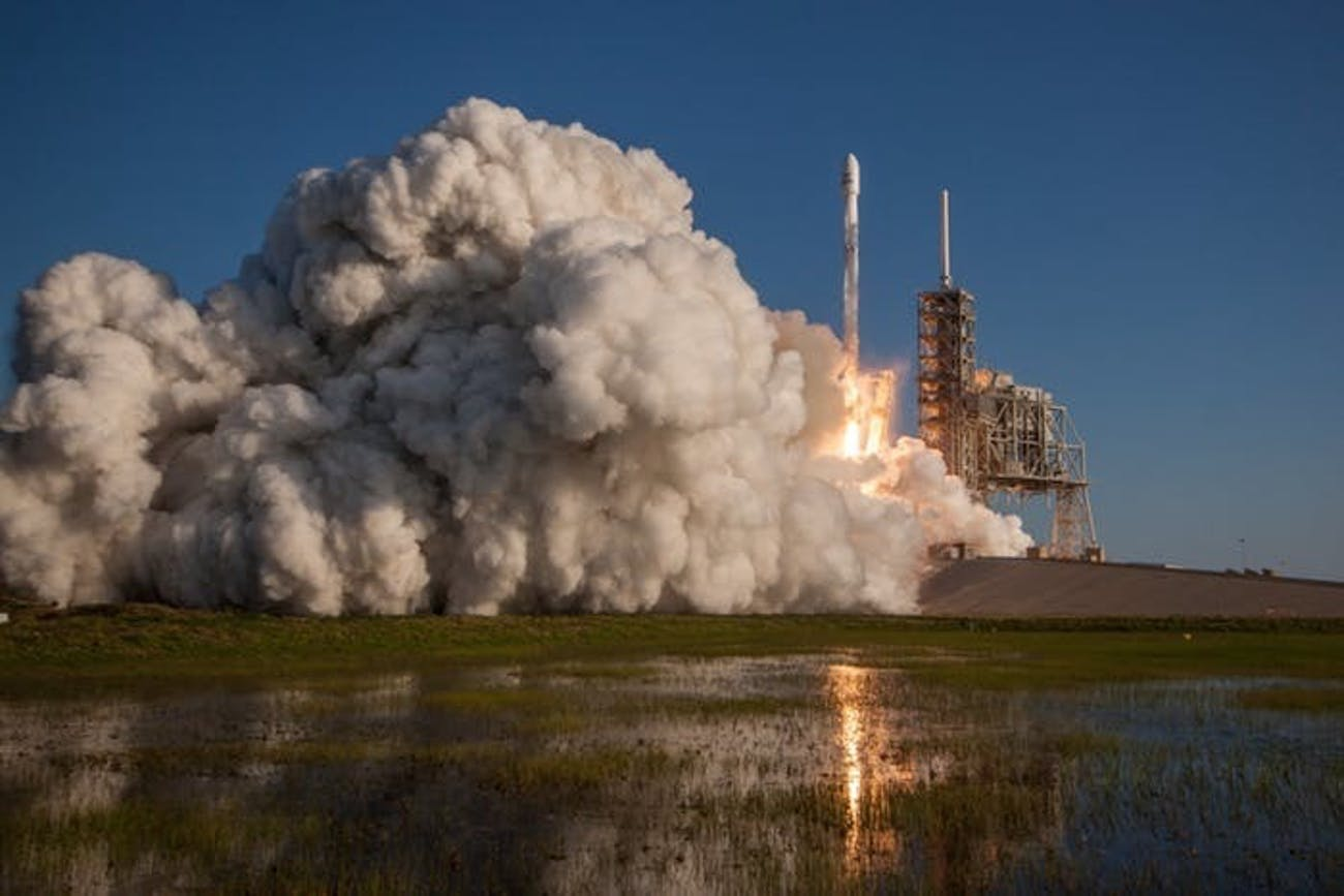 SpaceX's last SES launch aboard a used Falcon 9 rocket.