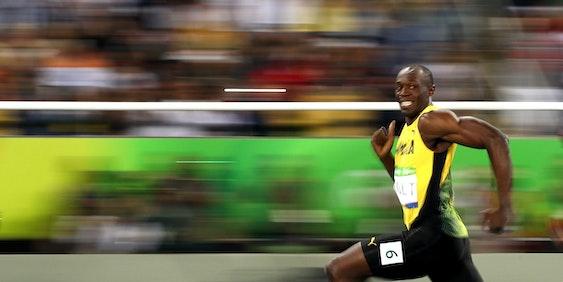 Sure, I can run like Usain Bolt.
