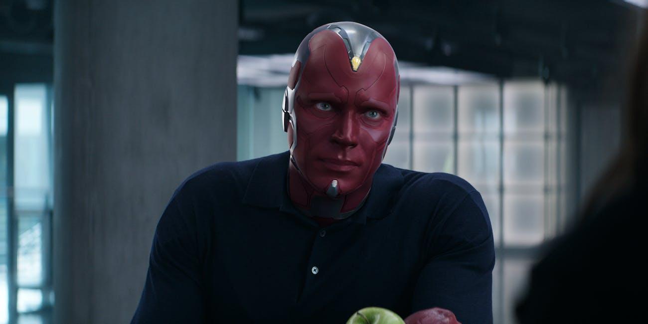Avengers Endgame Vision