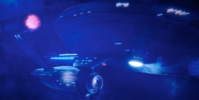 The USS Enterprise in the season one finale of 'Star Trek: Discovery.'