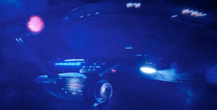 The USS Enterprise in the season one finale of 'Star Trek: Discovery.'