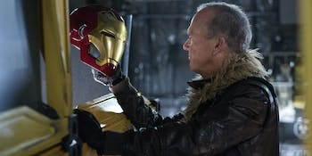 Spider-Man Vulture End Credits Homecoming