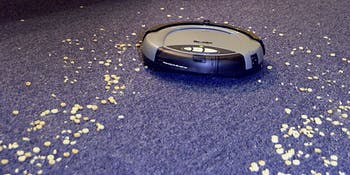 roomba vacuum carpet cereal clean robot