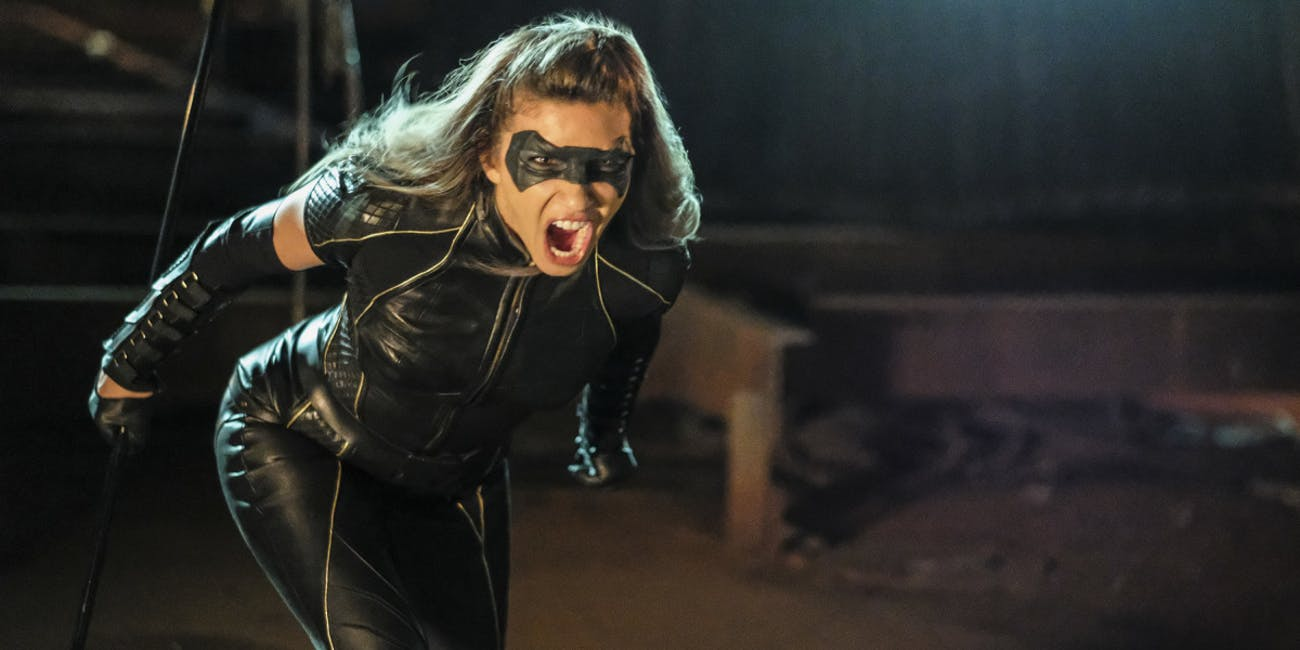 Juliana Harkavy as Dinah Drake/Black Canary on 'Arrow'