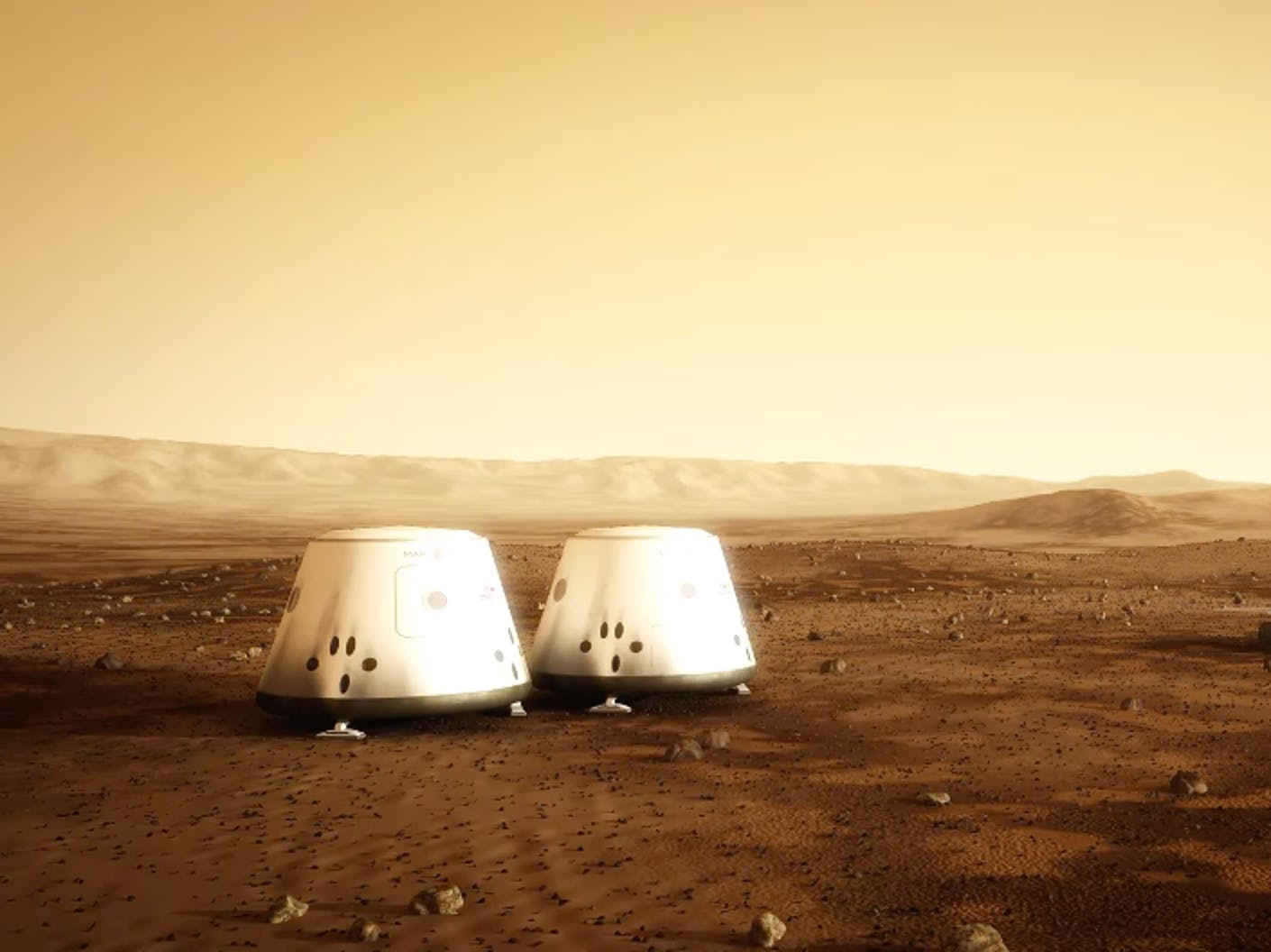 Mars One outpost