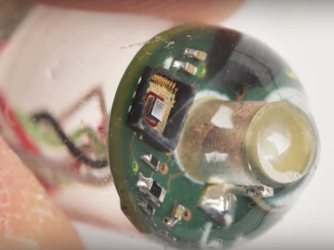 Researchers at MIT developed a pill that uses soundwaves to track vital signs.