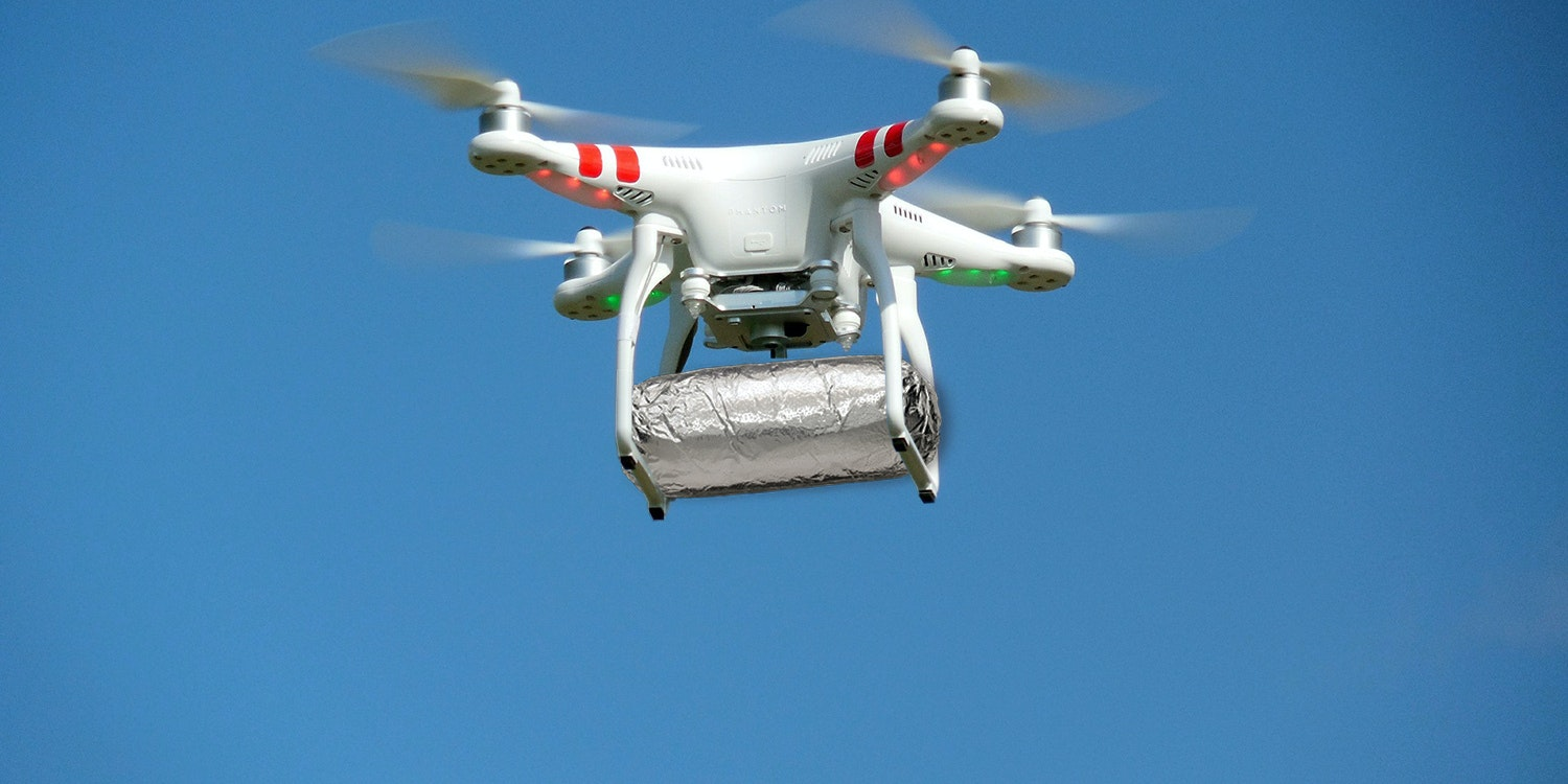 Soon Chipotle will be delivering burritos to students at Virginia Tech by drone.