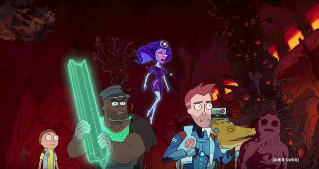 Morty joins up with the Vindicators.