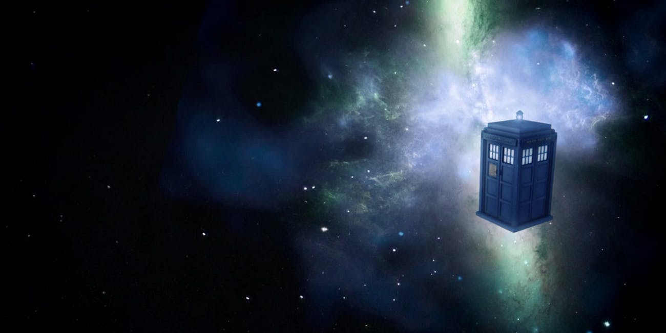 Doctor Who's Tardis is England's most prominent modern time machine.