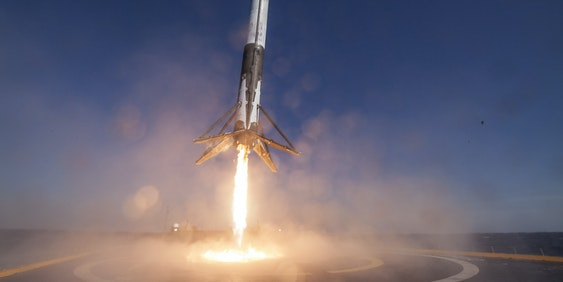 SpaceX is going to put this rocket back into space later this year.