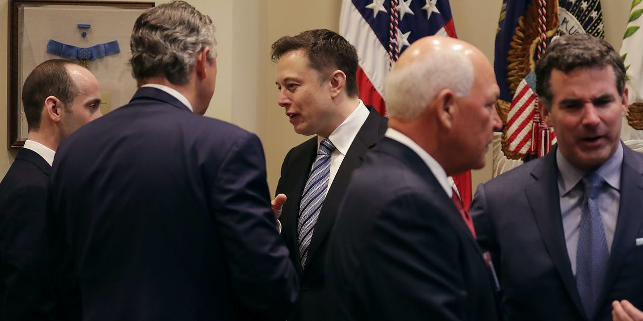 Tesla and SpaceX CEO Elon Musk Just Met With Trump at the