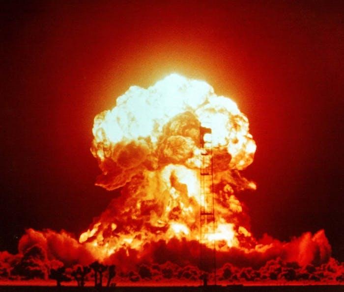 U.S. nuclear test Upshot-Knothole Badger on April 18, 1953