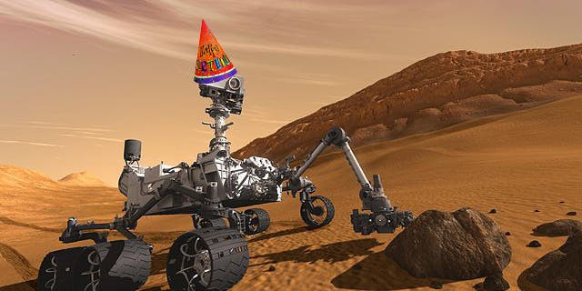 mars space rover birthday - photo #9