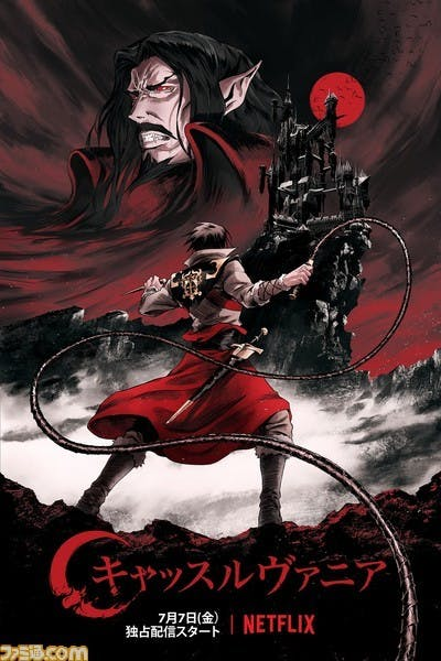 Poster for Netflix's 'Castlevania' anime series.