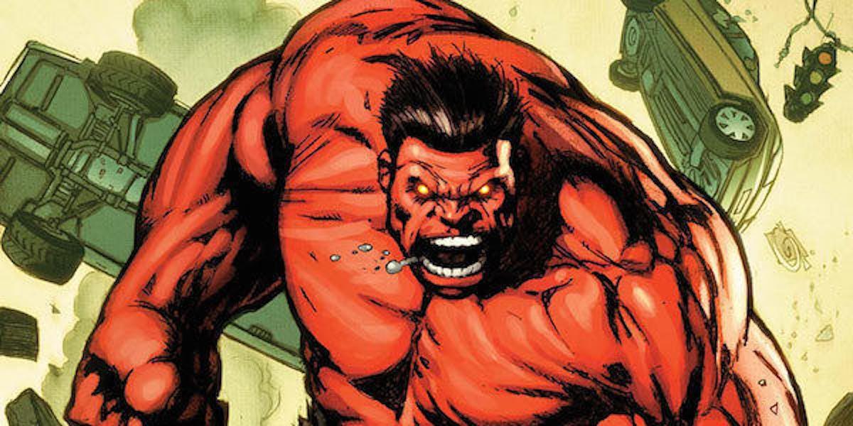 Red Hulk before Endgame