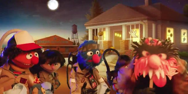 'Sharing Things', the upcoming 'Sesame Street' 'Stranger Things' parody.
