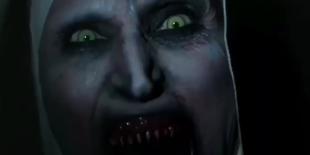 The Nun trailer violated YouTube's Shocking Content Ad Policy